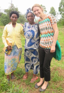 With Cecile and Colette of Hingakawa
