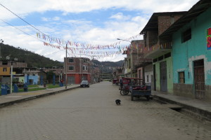 The small community of Namballe, home of Cebicafen